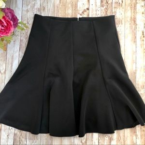🎀 2/$30 Vince Camuto Black Fit Flare Skirt